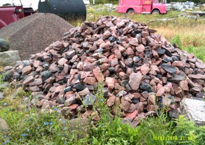 """6"""" Granite Gabian Stone"""